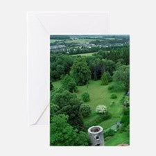 Blarney Castle. Overview from castle Greeting Card