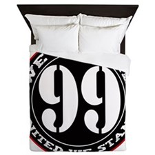 wearethe99percent3-white Queen Duvet
