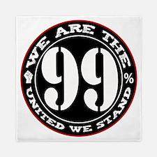 wearethe99percent3-white Queen Duvet