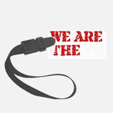 We Are The 99 -black Luggage Tag