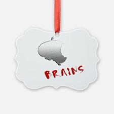 ThinkBrains_noBG Ornament