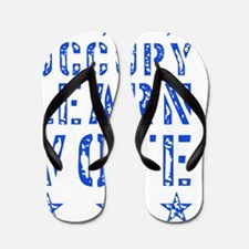 occupy_learn_vote_02_stars_blue Flip Flops
