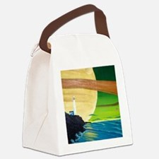 Saturn at Sea-coaster Canvas Lunch Bag