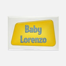 Baby Lorenzo Rectangle Magnet