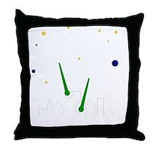 FBC UFO Attack White Throw Pillow