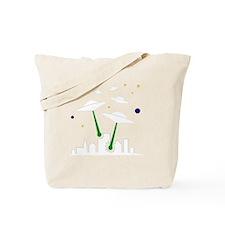 FBC UFO Attack White Tote Bag