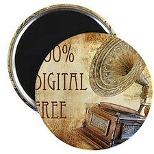 100% Digital Free Magnet