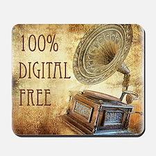 100% Digital Free Mousepad