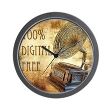 100% Digital Free Wall Clock