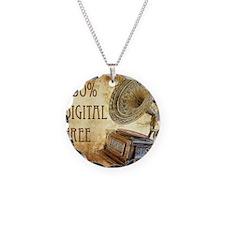 100% Digital Free Necklace Circle Charm