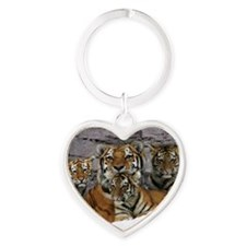 toma and cubs Heart Keychain