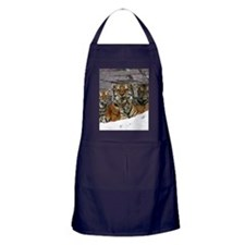 toma and cubs Apron (dark)