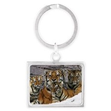 toma and cubs Landscape Keychain