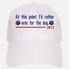 VoteForDog Baseball Baseball Cap