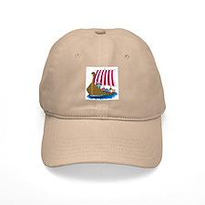 Viking Ship Baseball Cap