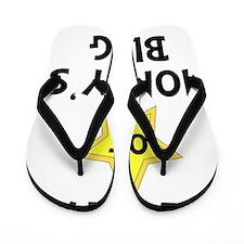 FBC Star Of Moms Blog Black Flip Flops