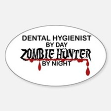 Zombie Hunter - Dental Hygienist Decal