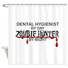 Zombie Hunter - Dental Hygienist Shower Curtain