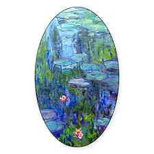 Journal Monet Lilies Decal