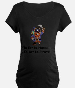 FBC To Arr Is Pirate Black  T-Shirt