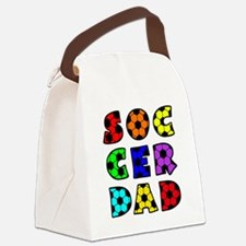 wh  multi, Dad block Canvas Lunch Bag