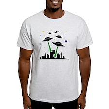 FBC UFO Attack Black T-Shirt