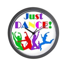 Just Dance dark Wall Clock