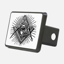 Masonic Square Compass and Hitch Cover