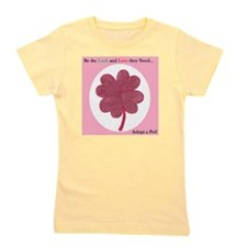 Red Hearts Clover Girl's Tee