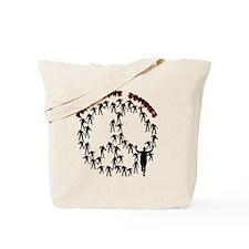 peacelovezombies Tote Bag