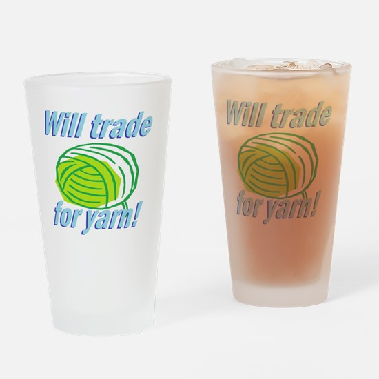 Will Trade Drinking Glass