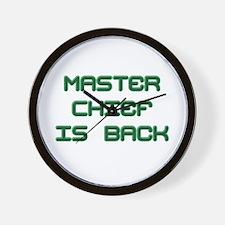 Master Chief Wall Clock