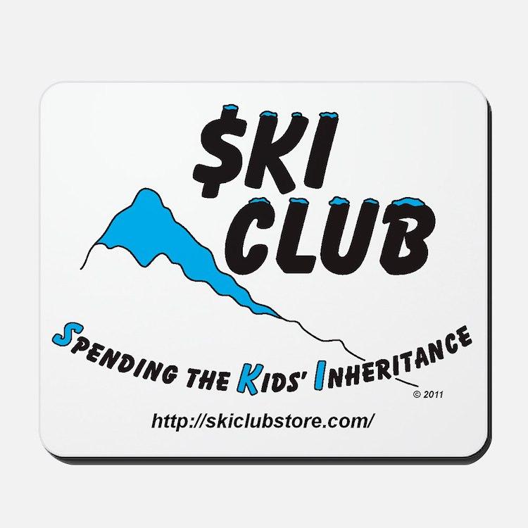 $KI Club LOGO - cropped Mousepad