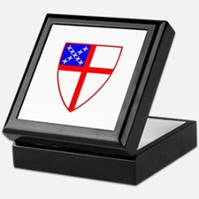 Episcopal Shield Keepsake Box