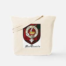 MacQuarrie Clan Crest Tartan Tote Bag