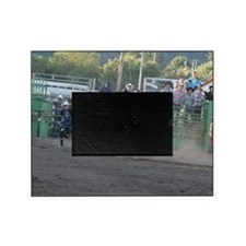 Tan Bull Picture Frame