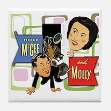 Fibber McGee And Molly Tile Coaster