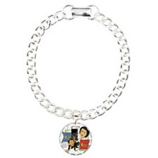 Fibber McGee And Molly Charm Bracelet, One Charm