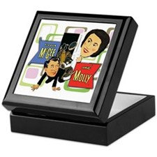 Fibber McGee And Molly Keepsake Box