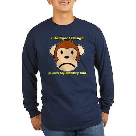 _basic section Long Sleeve Dark T-Shirt