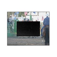Brown Bull Picture Frame