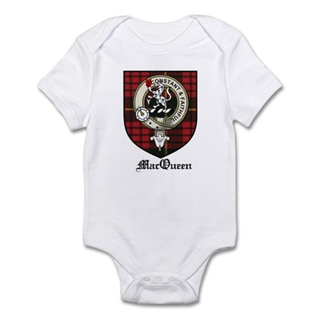 MacQueen Clan Crest Tartan Infant Bodysuit