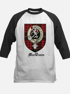 MacQueen Clan Crest Tartan Tee