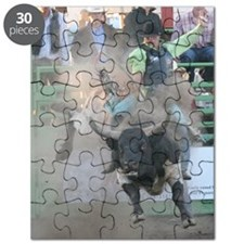 Black and White Bull Puzzle