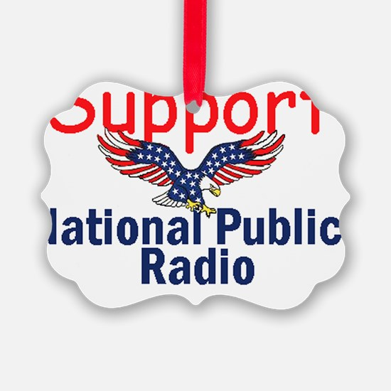 NPR Support Ornament