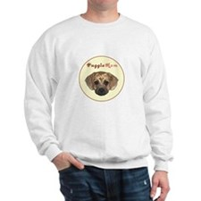 Puggle mom circle Sweatshirt