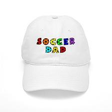 white, multi, Dad Baseball Cap