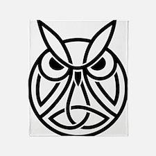 Conor Byrne Owl 2 Throw Blanket