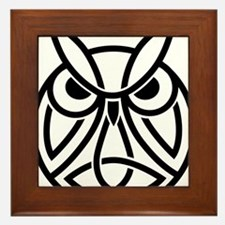 Conor Byrne Owl 2 Framed Tile