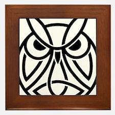 Conor Byrne Owl 2 Framed Tile